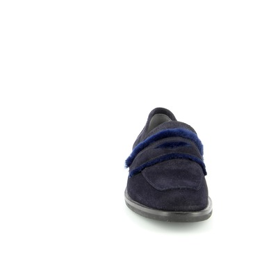 Moccassins Catwalk Bleu
