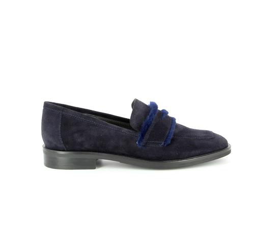 Moccassins Catwalk Bleu