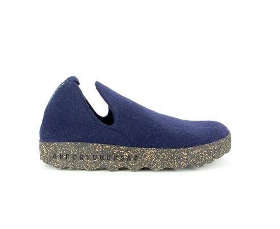 Pantoufles Asportuguesas Bleu