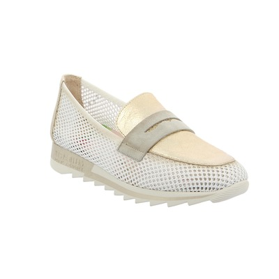 Moccassins Hispanitas Blanc