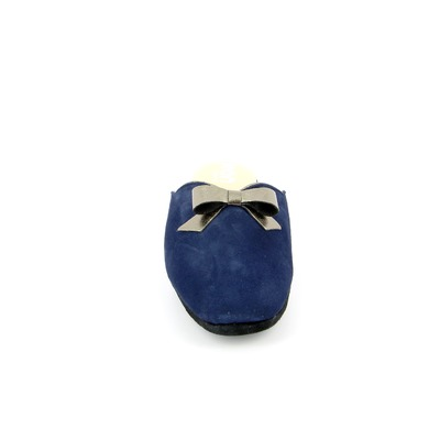 Pantoffels Delaere Blauw