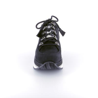Veterschoenen Shis Zwart