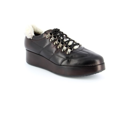 Veterschoenen Fashion Moda Zwart