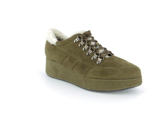 Veterschoenen Fashion Moda Kaki