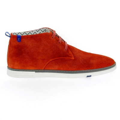 Bottines Floris Van Bommel Orange