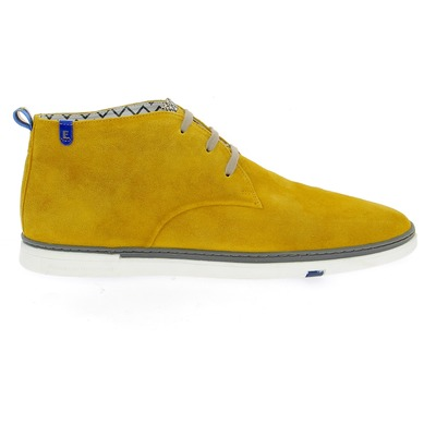 Bottines Floris Van Bommel Jaune