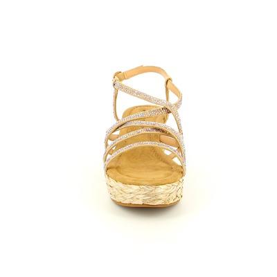 Sandalen Alma En Pena Beige