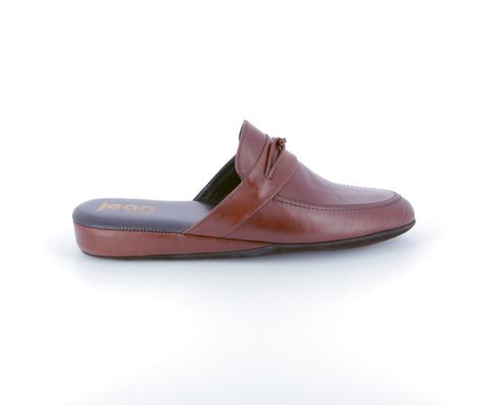Pantoffels Delaere Cognac