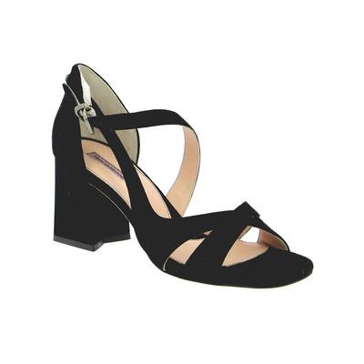 Sandales Floris Van Bommel Noir