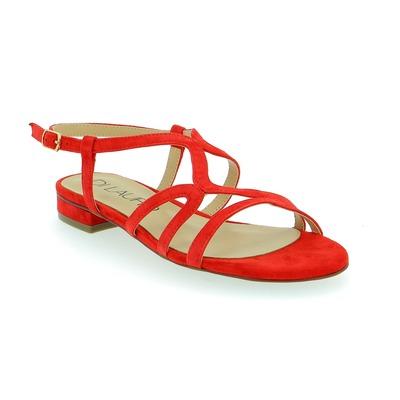 Sandales Di Lauro Rouge