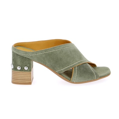 Muiltjes - slippers Alpe Kaki