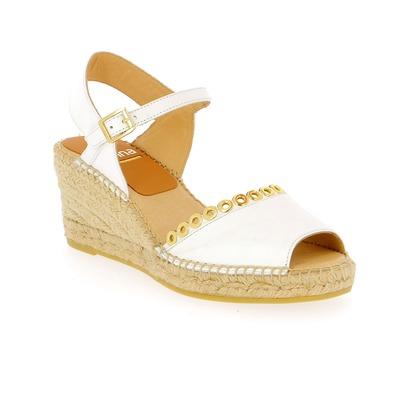 Sandales Kanna Blanc