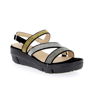 Sandalen Wonders Zwart