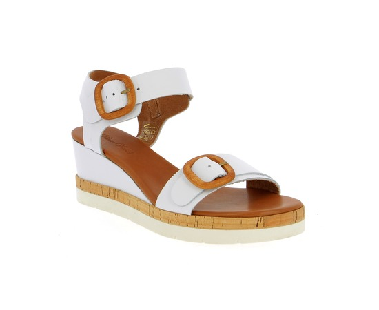 Sandalen River Wood Wit