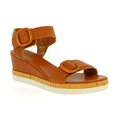 Sandalen River Wood Cognac