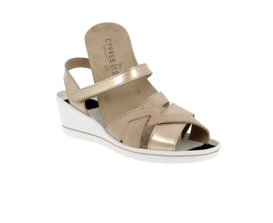Sandalen Cypres Taupe