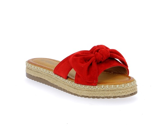 Muiltjes - slippers Cypres Rood