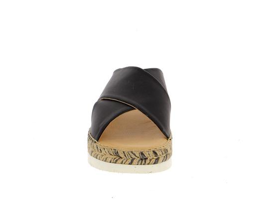 Muiltjes - slippers Kanna Zwart