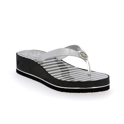 Muiltjes - slippers Guess Zilver
