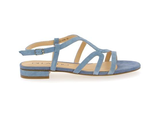 Sandalen Di Lauro Hemelsblauw