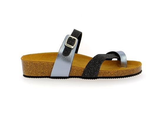 Muiltjes - slippers Miralles Zwart