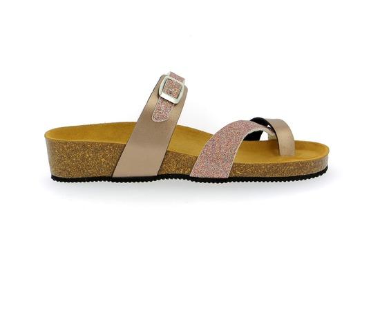 Muiltjes - slippers Cypres Nude