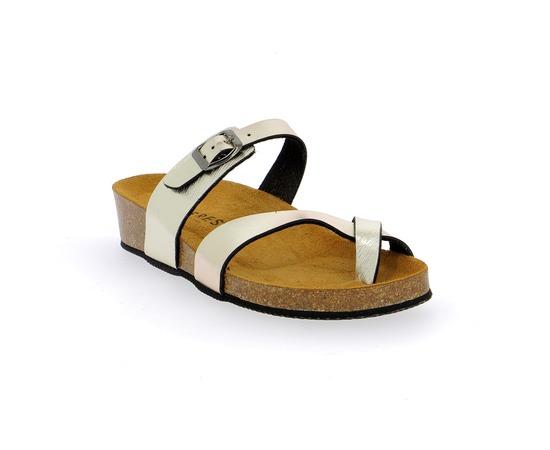 Muiltjes - slippers Cypres Platinum