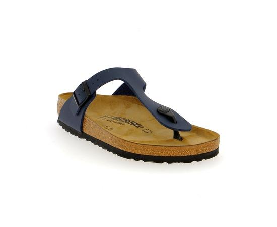 Muiltjes - slippers Birkenstock Blauw