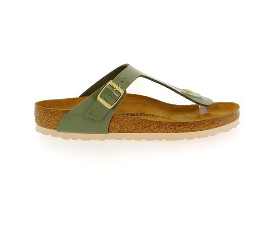 Muiltjes - slippers Birkenstock Groen