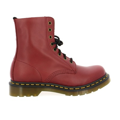 Bottines Doc Martens Rouge