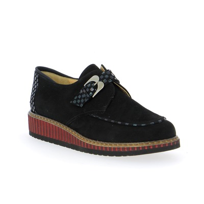 Moccassins Brunate Noir