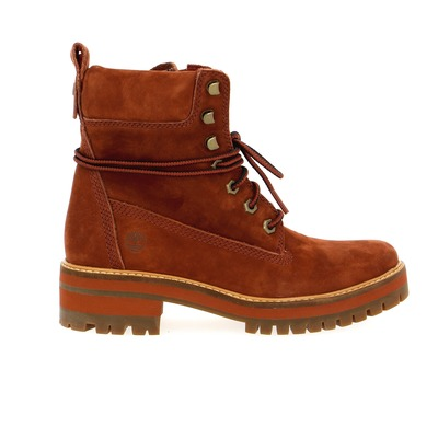 Bottines Timberland Rouille