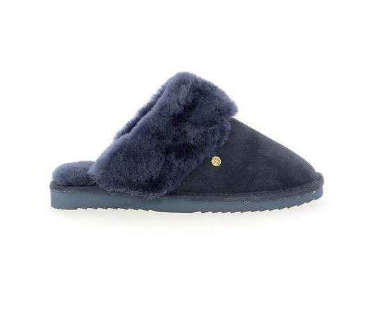 Pantoufles Warmbat Bleu