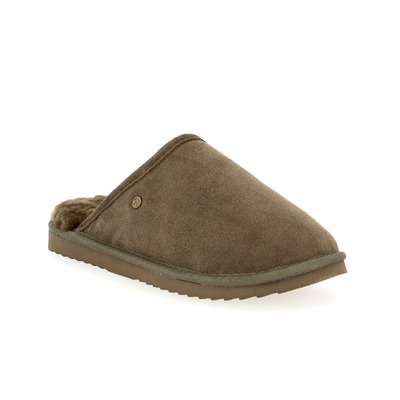 Pantoufles Warmbat Taupe