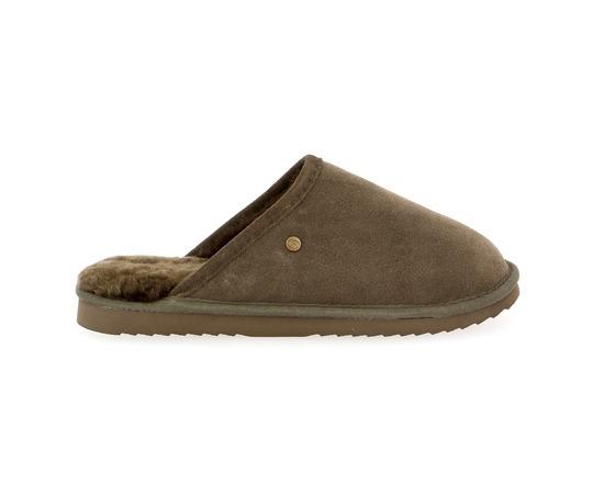 Pantoffels Warmbat Taupe