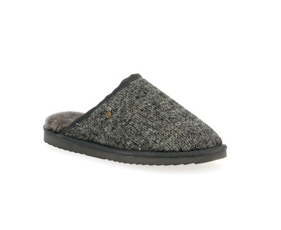 Pantoffels Warmbat Grijs