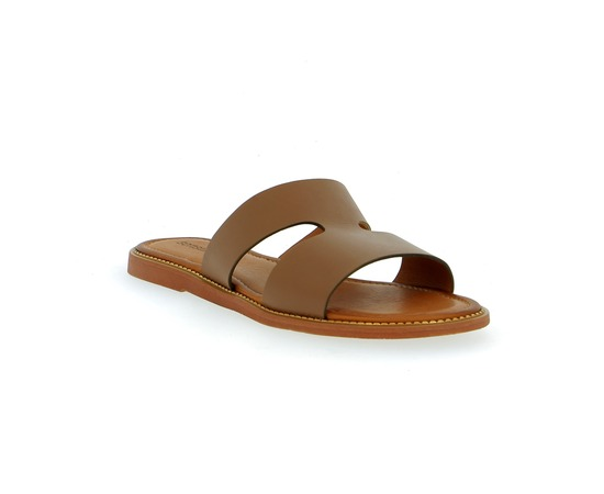 Muiltjes - slippers Sensunique Cognac