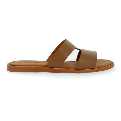 Muiltjes - slippers Sensunique Cognac