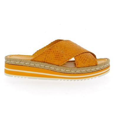 Muiltjes - slippers Pons Quintana Geel