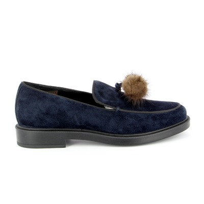Moccassins Triver Flight Bleu