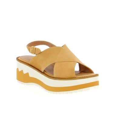Sandalen Three6five Beige