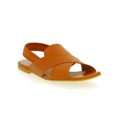Sandalen Three6five Cognac
