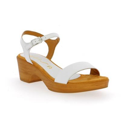Sandales Unisa Blanc