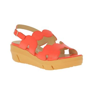 Sandales Wonders Corail