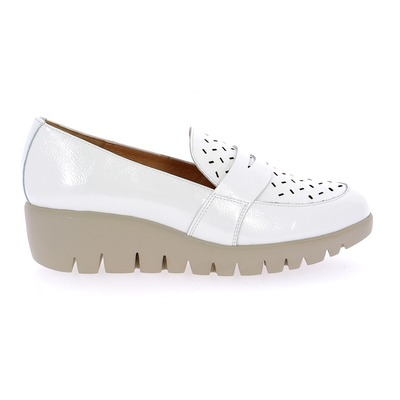 Moccassins Wonders Blanc