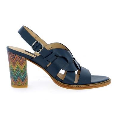 Sandales Zinda Bleu