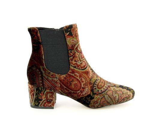 Boots Alma En Pena Bordeaux