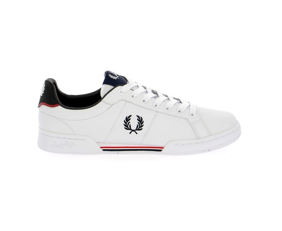 Basket Fred Perry Blanc