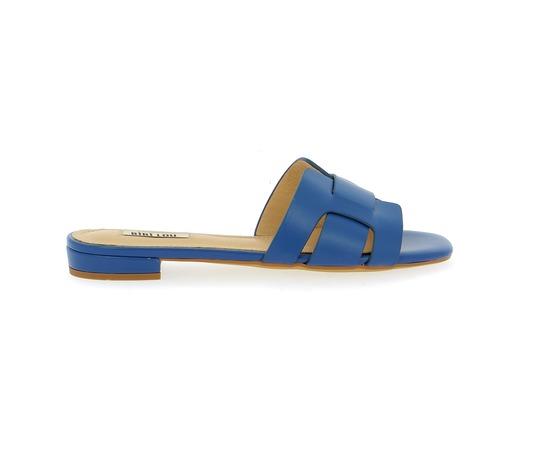 Muiltjes - slippers Bibilou Blauw