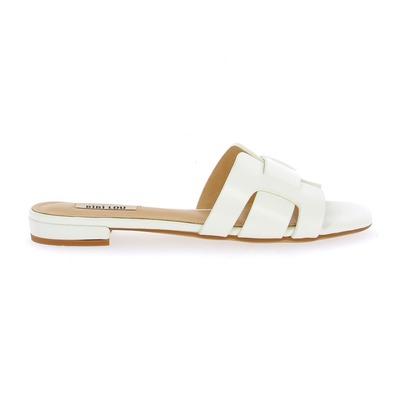 Muiltjes - slippers Bibilou Wit